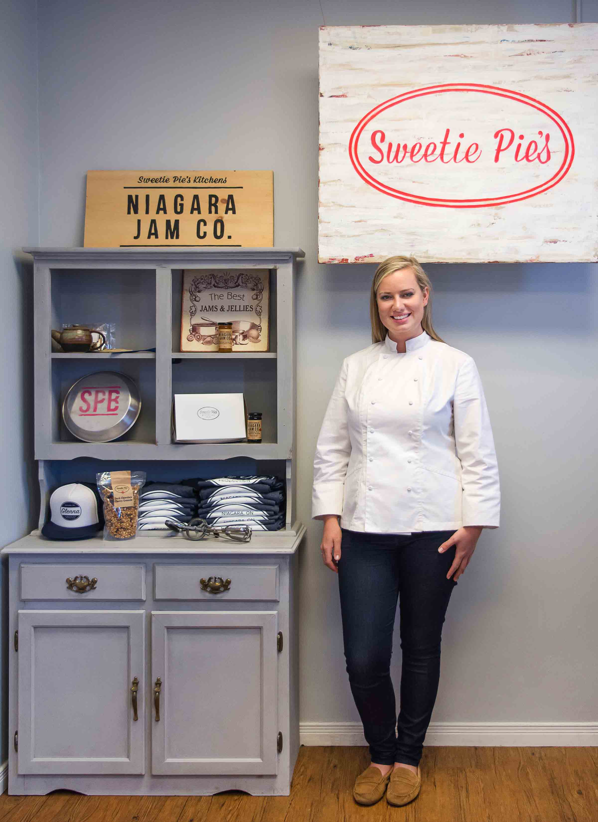 Beth McIntee owner of Sweetie Pie's Bakery and Niagara Jam Co.